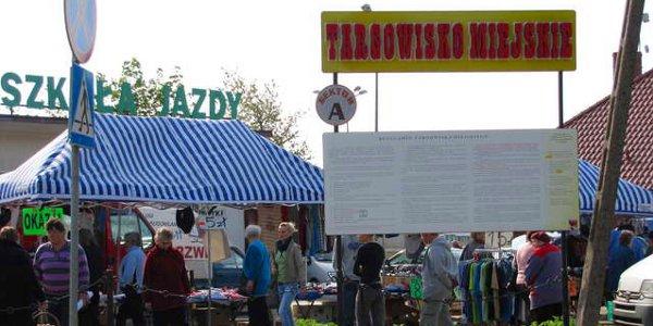 Targowisko miejskie w Gołdapi